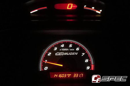 06 11 Honda Civic Fd2 Mugen Style Cluster Tach Overlay